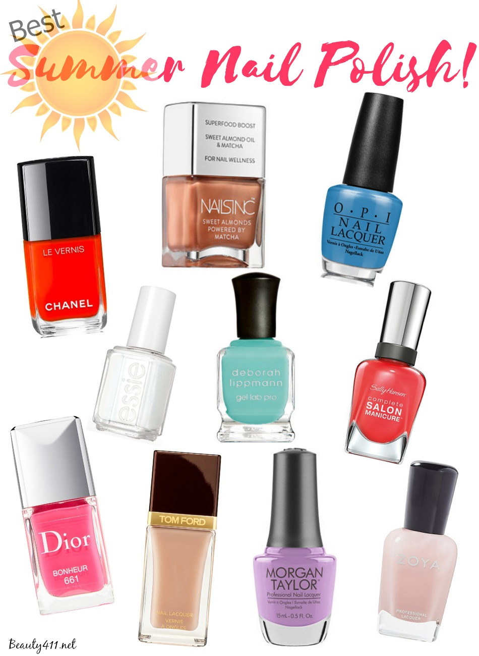 What Are The Hot Nail Polish Colors For Summer 2017 11