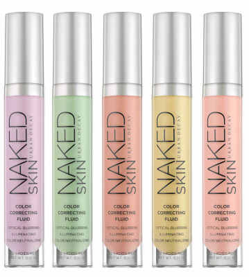 Urban Decay NAKED Skin Color Correcting Fluid Group Shot