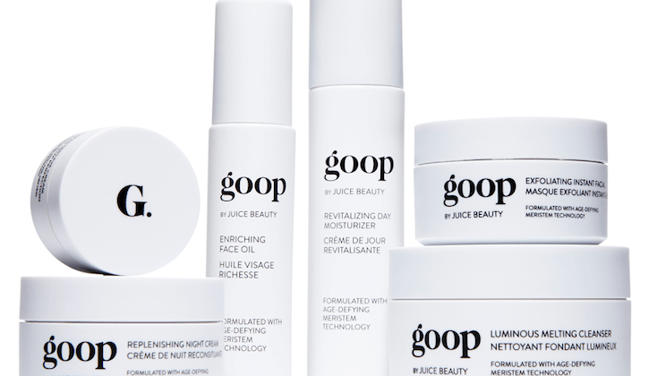 goop by juice beauty skincare