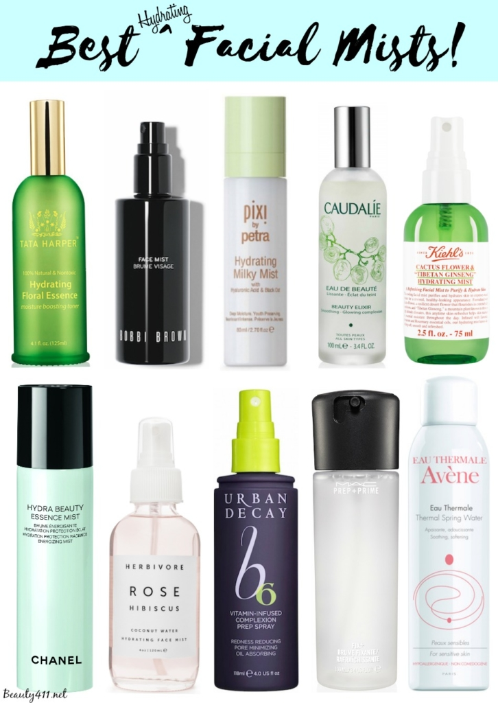 Best Hydrating Facial Mists