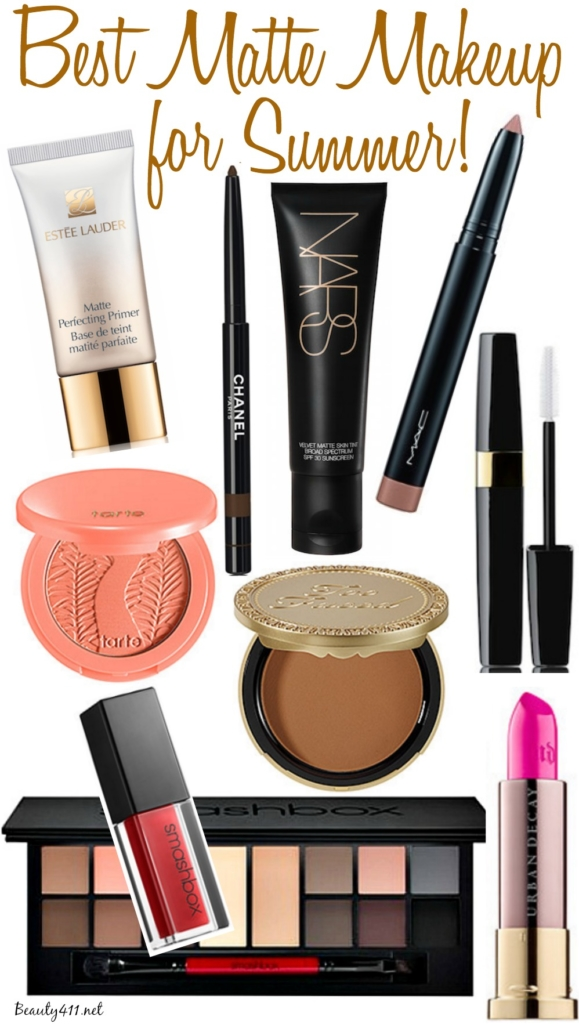 Best Matte Makeup for Summer_2016