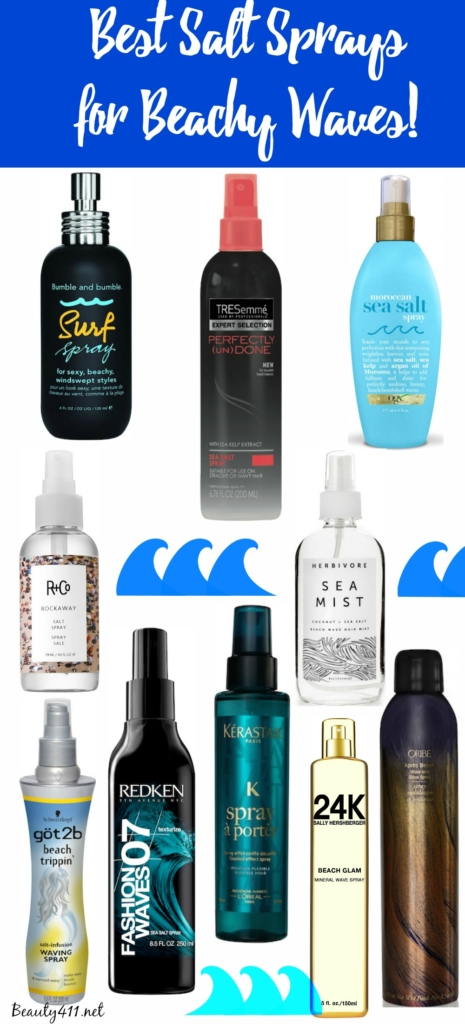 Best Salt Sprays for Beachy Waves
