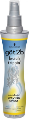 got2b beach trippin' waving spray