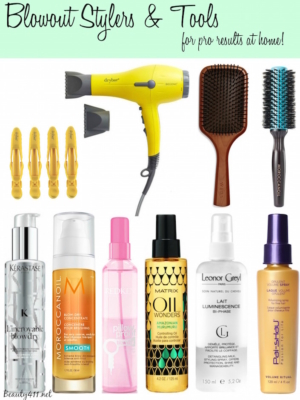 Get the perfect blowout at home with these tips & products!