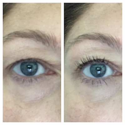 InstaCurl Mascara before-after