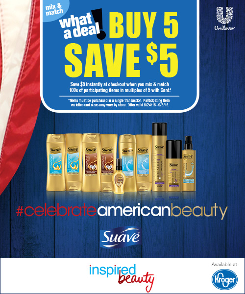 Suave American Beauty Offer_Kroger