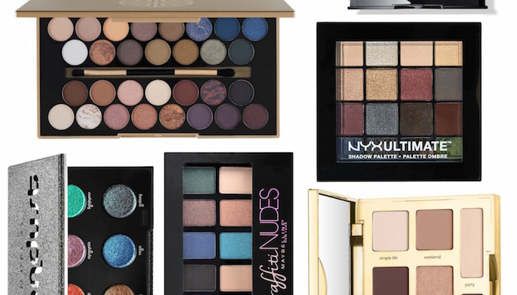 Best Fall Eyeshadow Palettes 2016