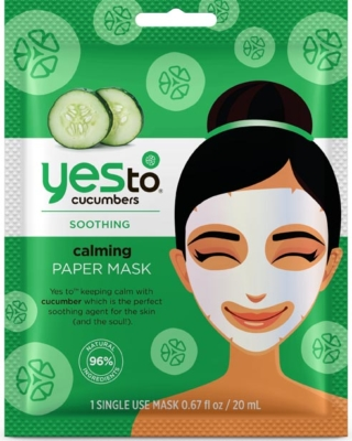 Yes To Cucumber Paper Mask
