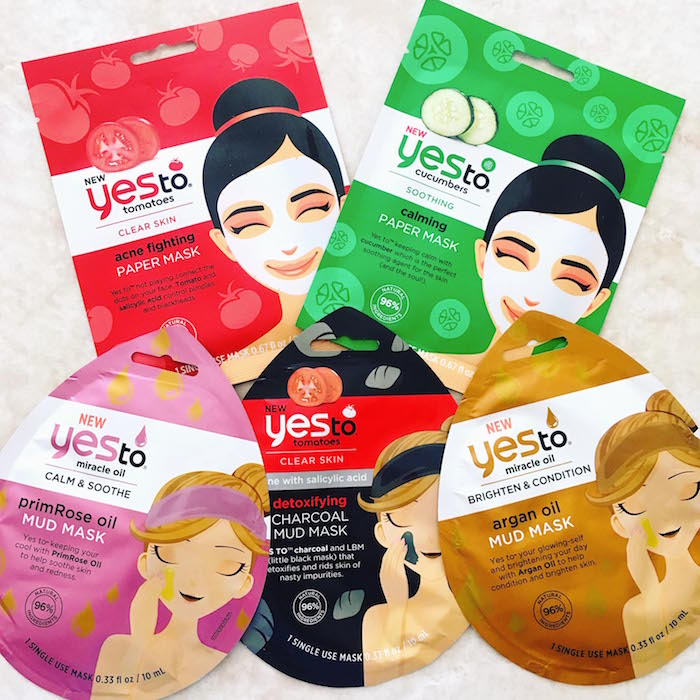 Yes To New Face Masks