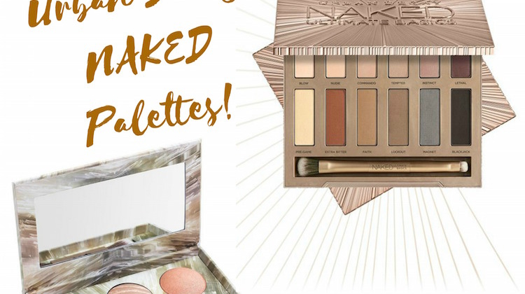New Urban Decay NAKED Palettes