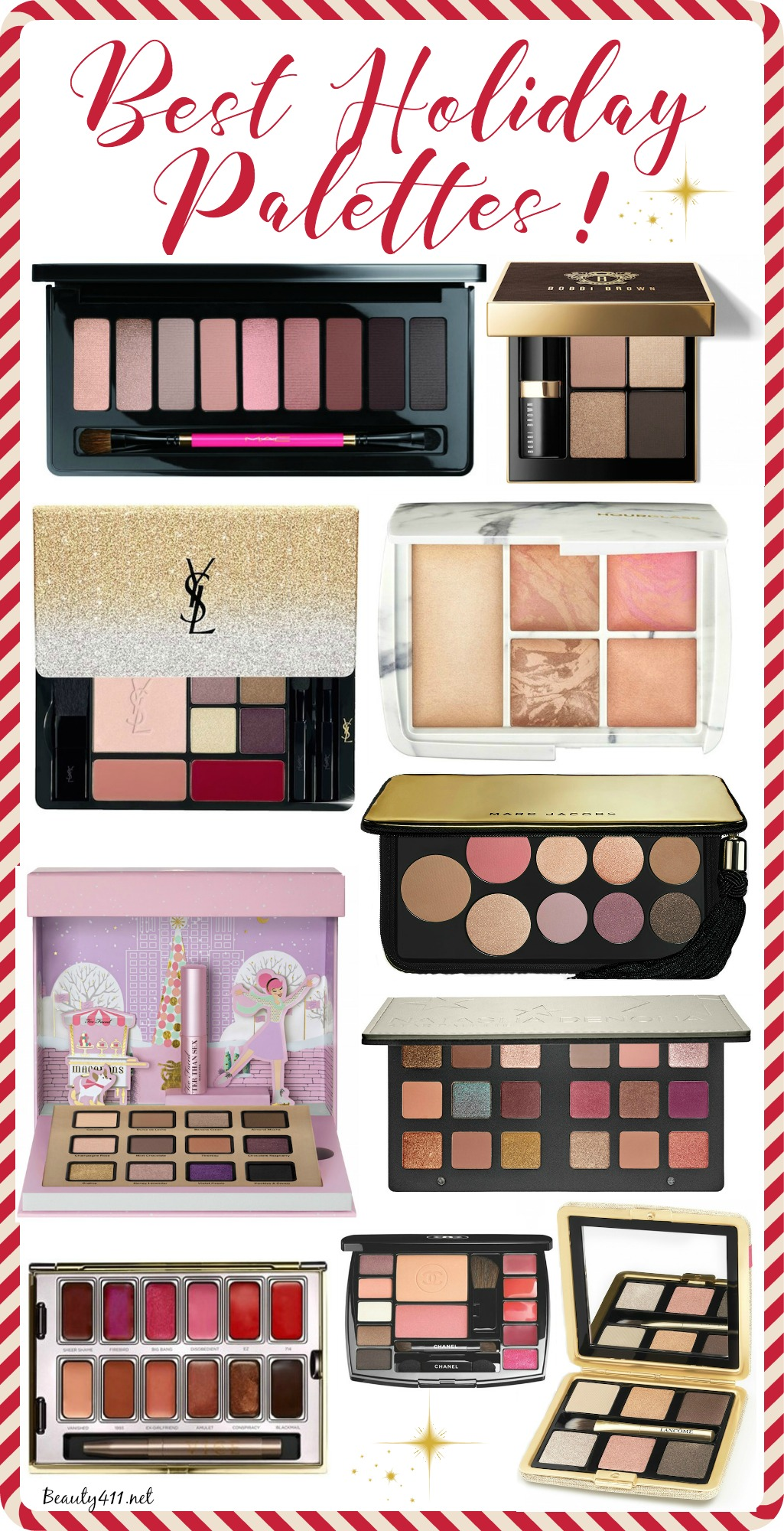 Best Holiday Makeup Palettes_2016