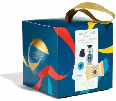 LOccitane Shea Butter Bauble with box