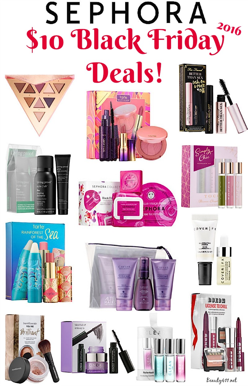 Sephora Black Friday 10 Dollar Deals 2016