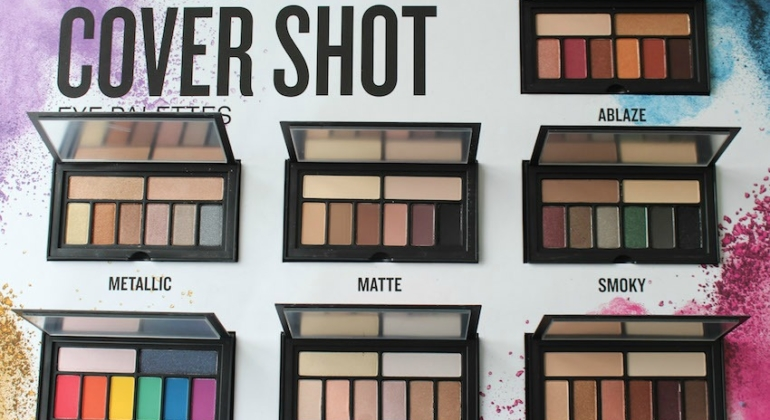 Smashbox Cover Shots Eyeshadow Palettes