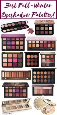 How many of these classic eyeshadow palettes for Fall are in your rotation?