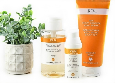 Head to toe glow with the REN Skincare Radiance range! (review)