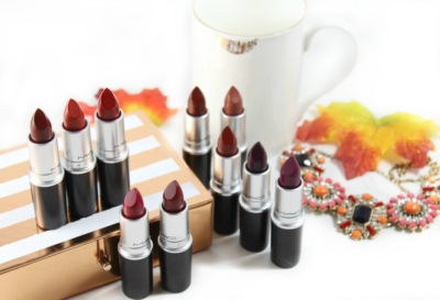 Reach for one of these gorgeous fall MAC lipsticks!